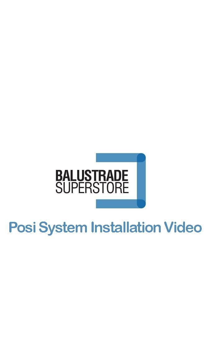 Posi Glaze Balustrade Base Fix 2m