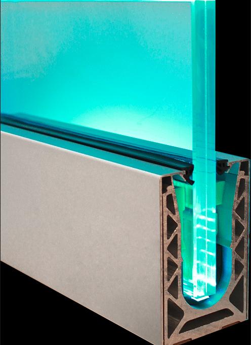Led Balustrade Systems Illuminating Balustrade Kits